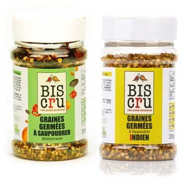 Assortiment graines germées Biscru