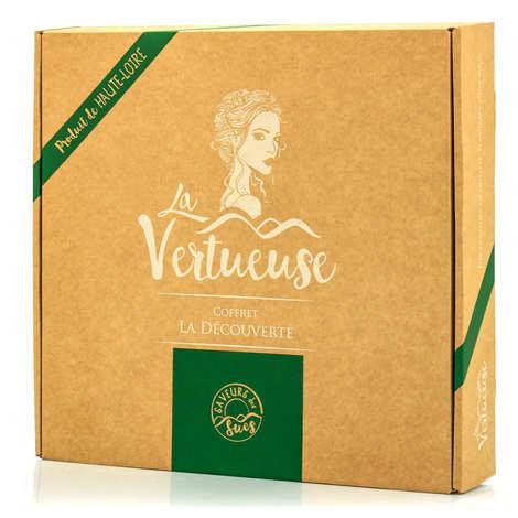 La Vertueuse - La Découverte - 5 Liqueurs Miniatures Gift Box