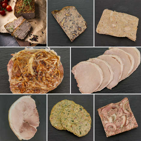 Les 3 pastres - Aveyronnaise charcuterie discovery offer