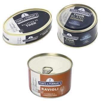 La pointe de Penmarc'h - Assortiment de spécialités bretonnes au thon