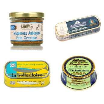 - Around mackerel assortment