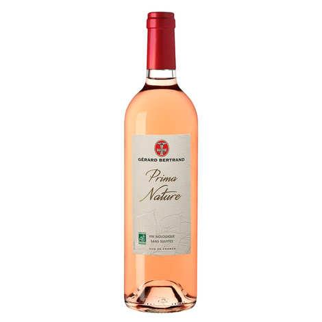 Gerard Bertrand - Prima nature grenache IGP Pays d'Oc vin rosé - bio et sans sulfites ajoutés