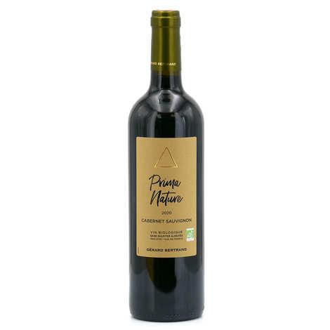 Gerard Bertrand - Prima nature cabernet sauvignon vin rouge bio et sans sulfites ajoutés