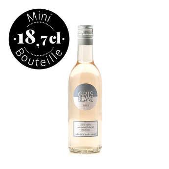 Gerard Bertrand - Gris Blanc IGP Pays d'Oc vin rosé - Mini bouteille 18.7cl