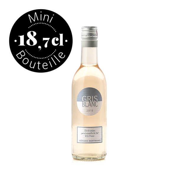 Gris Blanc IGP Pays d'Oc vin rosé - Mini bouteille 18.7cl
