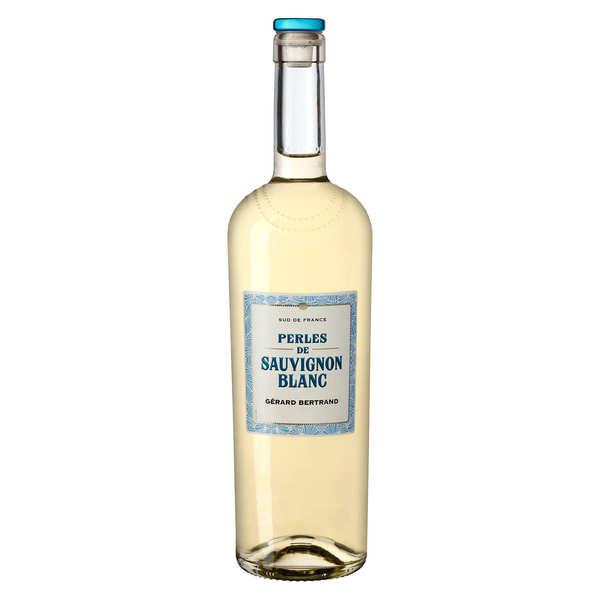 Perles de sauvignon vin blanc bio du Pays d'Oc