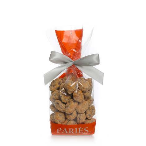 Maison Pariès - Espelines - Amandes torréfiées et caramélisées au piment d'Espelette
