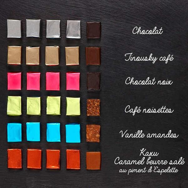 Kanougas Pariès - Assortiment de caramels du Pays Basque