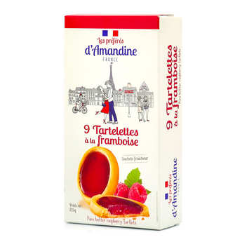 Les préférés d'Amandine - Tartelettes à la framboise