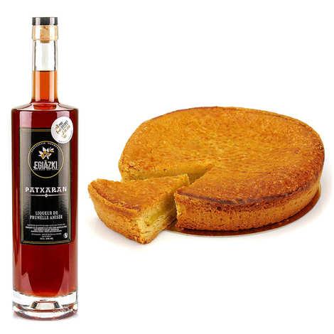 Maison Pariès - Gâteau basque crème d'amande et sa Patxaran