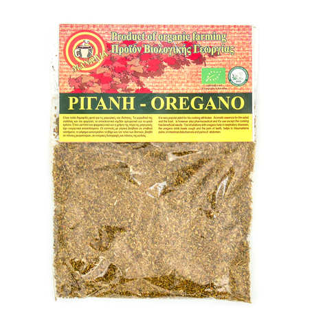 Manolia - Organic Oregano in Powder from Greece