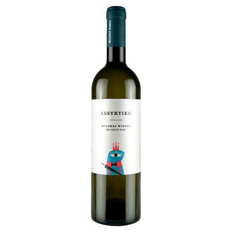 MYLONAS - Assyrtiko White Wine from Greece