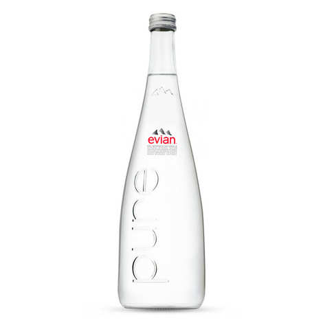 Evian - Evian Pure Prestige Range - Still Water from the Alpes
