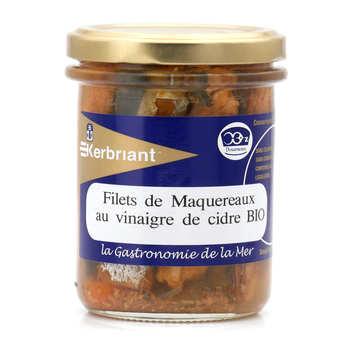 Kerbriant - Filets de maquereaux au vinaigre de cidre bio