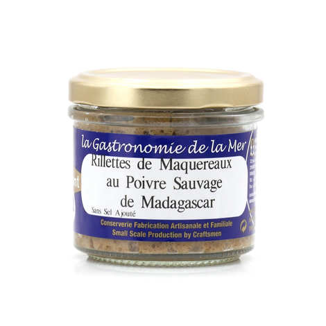 Kerbriant - Mackerel Rillettes with Madagascar Wild Pepper - without Added Salt