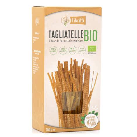 Fibritti - Organic and Gluten Free White Soya Tagliatelle