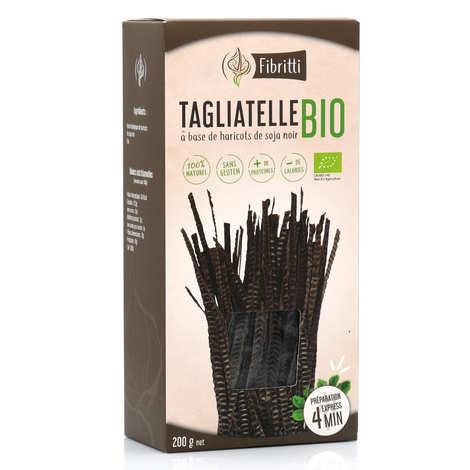 Fibritti - Tagliatelles de soja noir bio sans gluten