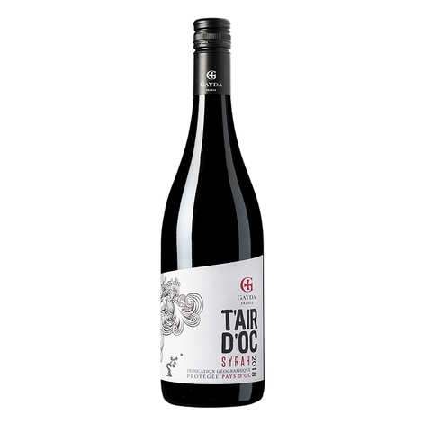 Domaine Gayda - T'air d'Oc - Red Wine from Pays d'Oc