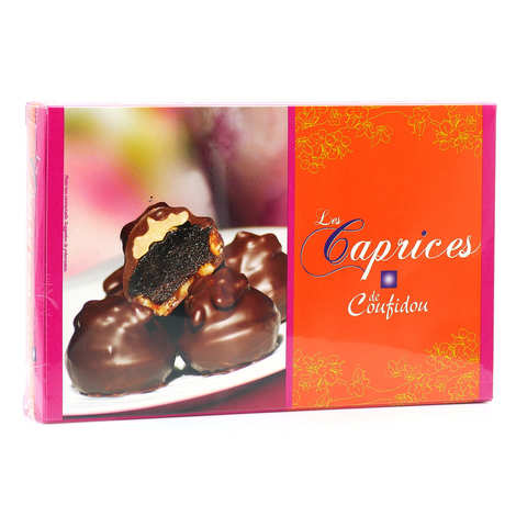Coufidou - Les caprices de coufidou - Crème de pruneaux, noix et chocolat noir