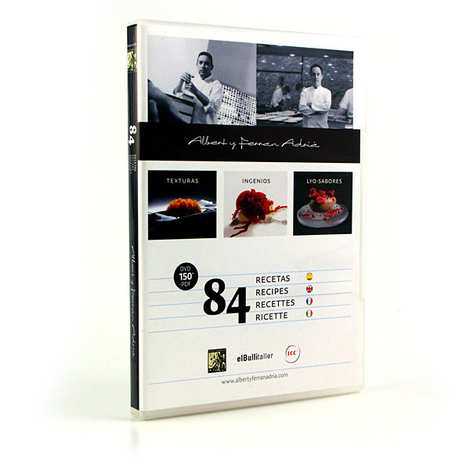 Texturas Ferran Adria - DVD de cuisine moléculaire par Ferran Adria