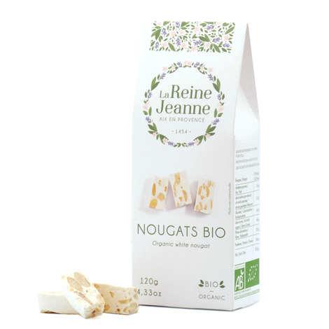 La Reine Jeanne - Nougats blanc bio - La Reine Jeanne
