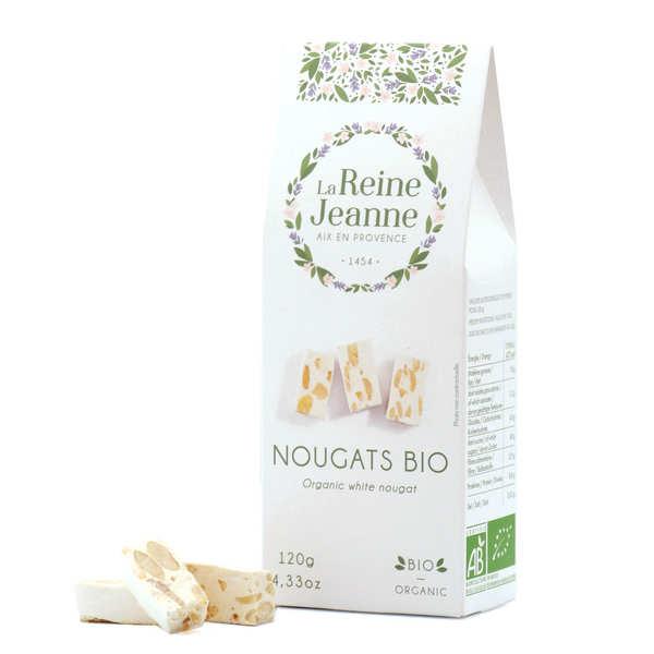 Organic White Nougat - La Reine Jeanne