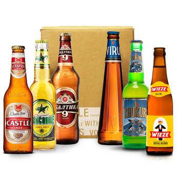 - Box découverte bières du monde (juin)