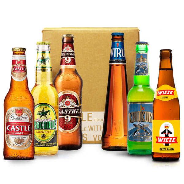 Box découverte bières du monde (juin)