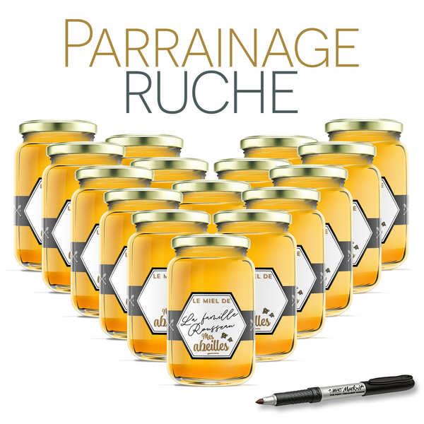 Parrainer une ruche en Gard / Lozère de miel de bruyère - récolte 2019