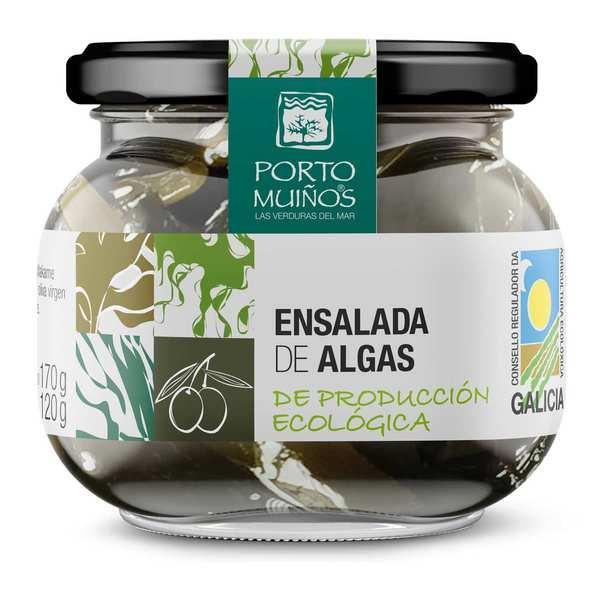 Tartare d'algues à l'huile d'olive bio