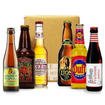 - Box découverte bières de l'été (juillet)