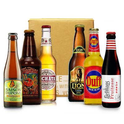 Box bière du mois de juillet