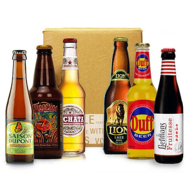 Box découverte bières de l'été (juillet)