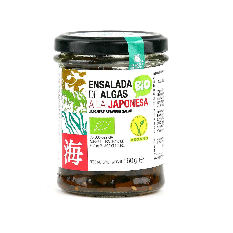 Japanese type seaweed salad