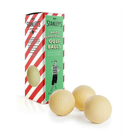 Mr Stanley's - Balles de Golf en chocolat blanc