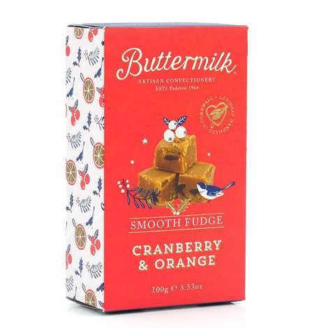 Burnt Sugar - Cranberry & Orange Fudge