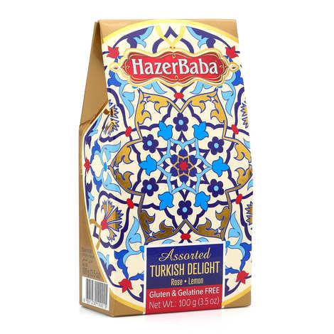 Hazer Baba loukoums - Loukoums à la rose et au citron