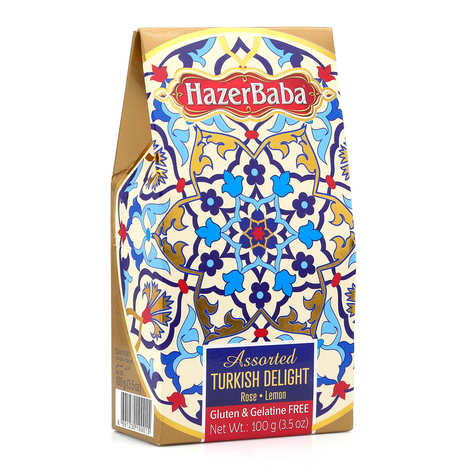 Hazer Baba loukoums - Turkish Delight with Rose & Lemon