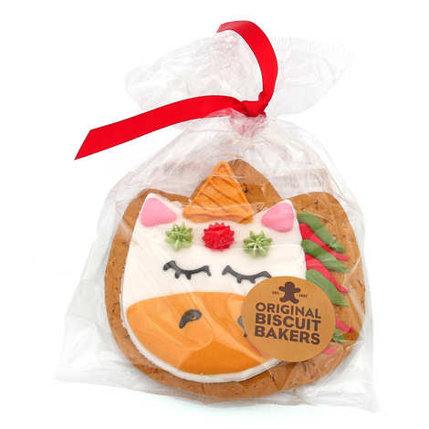 Image on food - Iced gingerbread Unicorn