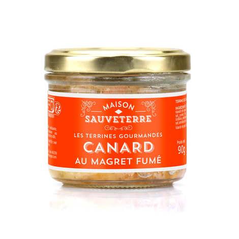 Maison Sauveterre - Terrine gourmande de canard au magret fumé