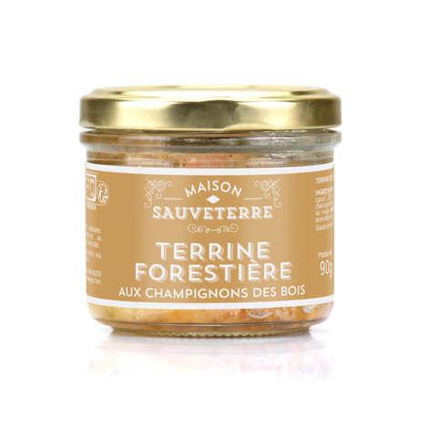 Maison Sauveterre - Terrine forestière aux champignons des bois