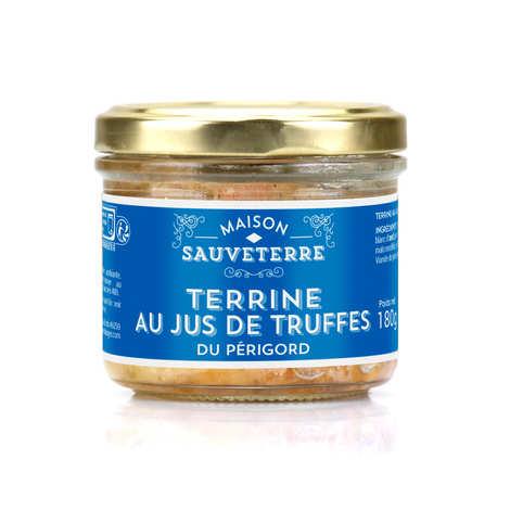 Maison Sauveterre - Terrine au jus de truffes du Périgord