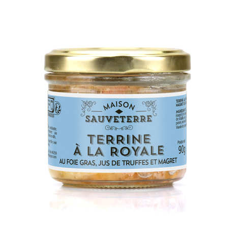 Maison Sauveterre - Terrine à la royale au foie gras, jus de truffe et magret