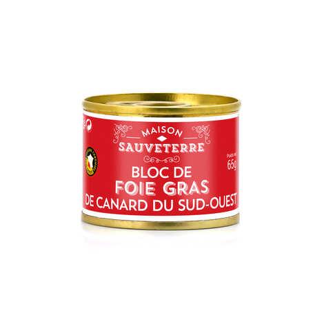 Maison Sauveterre - Bloc de foie gras de Canard IGP Sud Ouest