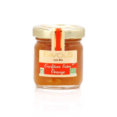 Favols - Confiture extra d'orange bio