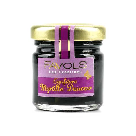 Favols - Confiture extra myrtille bio