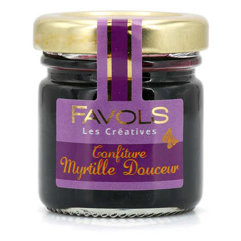 Favols - Organic Blueberry Jam