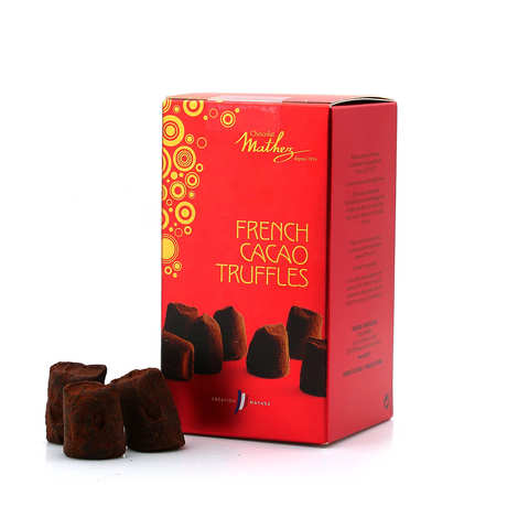 Chocolat Mathez - Cocoa Truffles in a little gift box