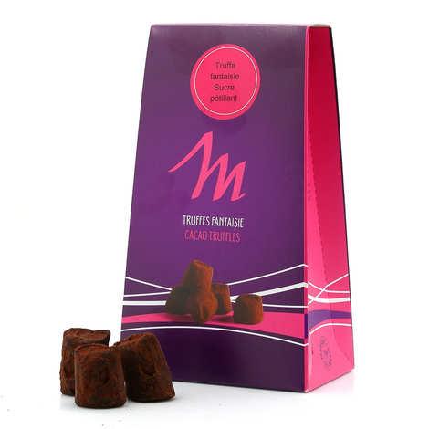 Chocolat Mathez - Truffes fantaisie pétillantes