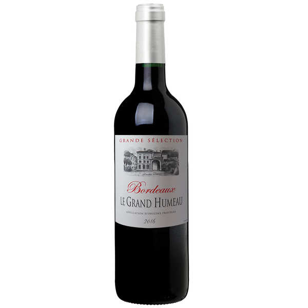 aop bordeaux vin rouge - bouteille 37.5 cl